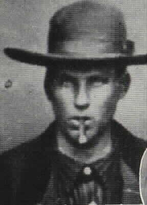 Selon William H. Roberts, voici la photo qui le représentait à 17 ans, en 1877.