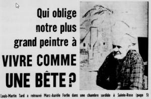 Page couverture de La Patrie, 2 octobre 1966