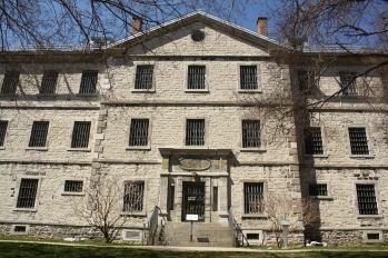 Vieille prison de Trois-Rivières, fermée en 1986. (photo: E. Veillette)