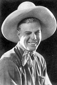 Hoot Gibson, l'un des premiers cow-boys à devenir acteur au cinéma.