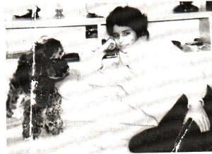Denise Therrien vers l'âge de 16 ans.