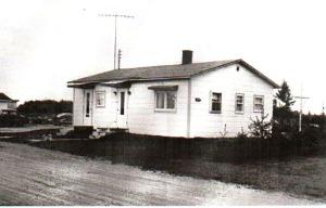 La maison du fossoyeur du cimetière St-Michel, à Shawinigan-Sud.