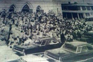 Les funérailles des deux fillettes furent célébrées à l'église St-Odilon du Cap-de-la-Madeleine le 21 juillet 1971.