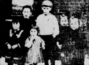 1913 - enfants de Vautour