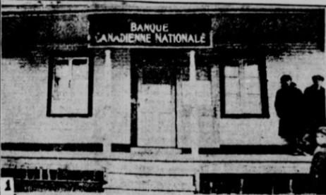 1925 - maison des Bernard - banque à Rougemont