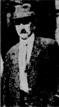 Christopher White accusé du meurtre de William Clarke en 1924