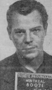 """Fernand Dumont, alias Dubé, cumulait les """"exploits"""" de l'évasion bien avant des criminels récidivistes tels que Jacques Mesrine ou Jean-Paul Mercier."""