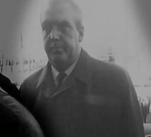 Le détective Jean-Marie Hubert en 1969.