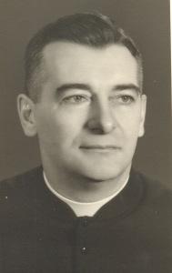 Le curé Grégoire Leblanc.