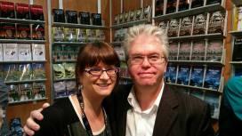 Les auteurs Isabelle Therrien et Eric Veillette au Salon du livre de Montréal, 21 novembre 2015.