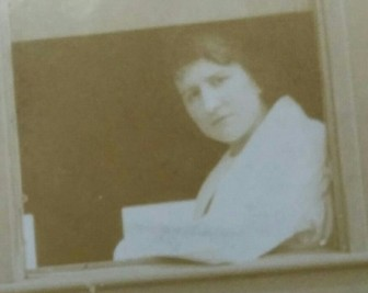 Blanche Garneau, peu de temps avant son assassinat.
