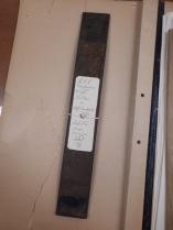 Cette barre de fer, qui a servi à commettre un meurtre en 1932, a récemment été retrouvée dans les archives de BAnQ.