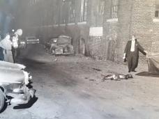 L'une des photos judiciaires accompagnant le dossier de l'enquête du coroner (BAnQ Montréal).