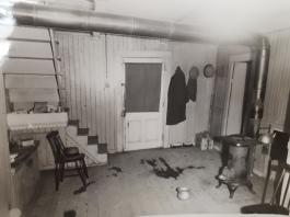Intérieur du logement de Boulanger.