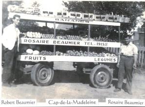 Photo de Robert et Rosaire Beaumier
