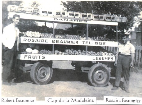 Photo de Robert et Rosaire Beaumier