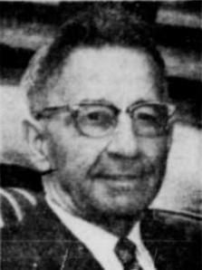 Le sacristain Armand Colbert. C'est lui qui a découvert le corps du bébé sans nom dans l'église des Sept-Allégresses à Trois-Rivières, en décembre 1926.
