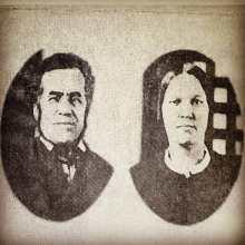 Sophie Boisclair et Modeste Villebrun dit Provencher, tous deux condamnés à mort pour un crime commis en 1866.