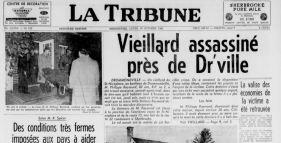 Meurtre de Saint Nicéphore (Drummondville) en 1961.