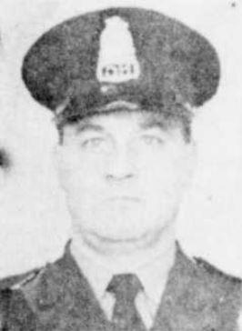 Capitaine des détectives Georges Gagnon, Trois-Rivières.